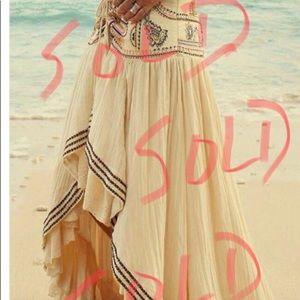 Dresses & Skirts - SOLD Bohemian asymmetric skirt